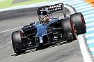 Despite accident, McLaren is top ten on the German GP