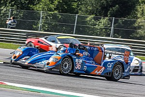 European Le Mans Race report Three different manufacturers on ELMS LMP2 podium at Red Bull Ring