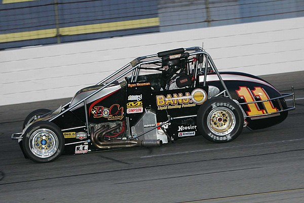 USAC 1999 USAC Champion Ryan Newman enters Thursday Silver Crown race in Indy