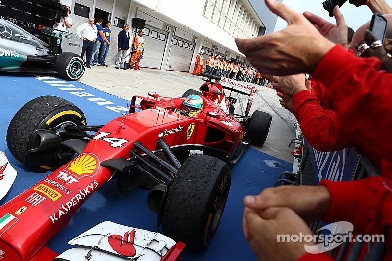 """Happy Birthday Fernando"" - McLaren"