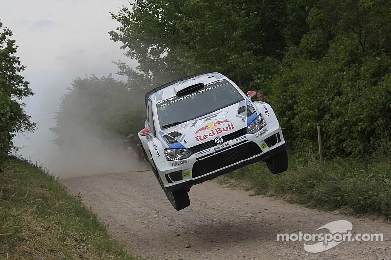 Latvala beats Ogier, Volkswagen takes early lead in Finland