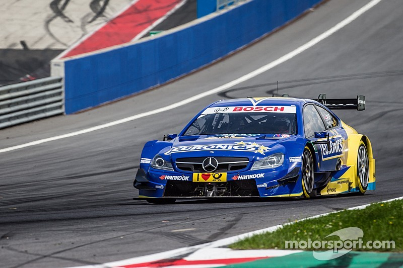 Torrid weekend for Paffett at the Red Bull Ring
