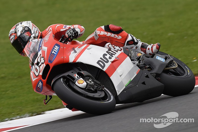 Dovizioso puts in another excellent qualifying run for the British GP at Silverstone