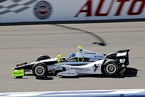 IndyCar Qualifying report SFHR Collects fourth front row IndyCar start of 2014 in Fontana