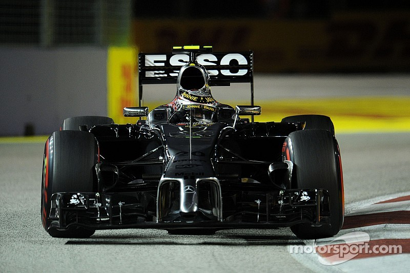 A disappointing Singapore GP for McLaren