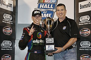 NASCAR Interview Teenager, high school student, and NASCAR champion Ben Rhodes
