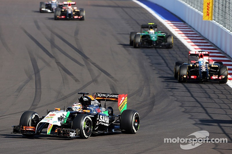 Sahara Force India scored a hard-earned point in Sochi