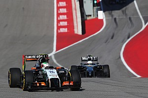 Formula 1 Race report A disappointing afternoon for Sahara Force India in Texas