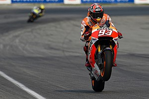 MotoGP Practice report Perfect start to weekend in Valencia for high-flying Marquez