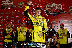 NASCAR Truck Race report Erik Jones wins bizarre Truck race at PIR