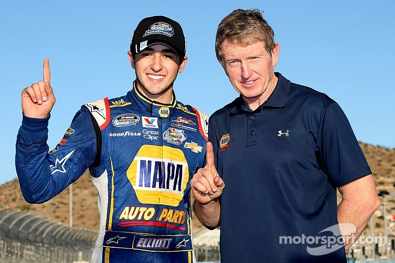 Chase Elliott humbly carries the new title of NASCAR Champion
