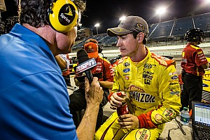 NASCAR Cup Race report NASCAR notebook: Logano PO'ed, Knaus spaces out, Ambrose says so long