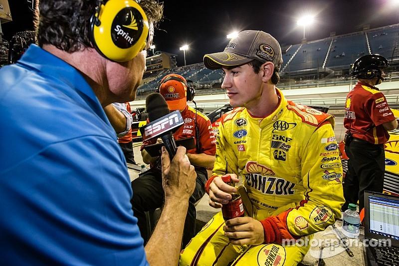 NASCAR notebook: Logano PO'ed, Knaus spaces out, Ambrose says so long