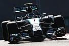 An eighth consecutive Mercedes front row lockout at Yas Marina