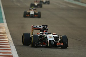 Formula 1 Race report Sahara Force India ended the season in style with a strong double points finish at Yas Marina