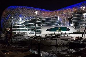 Formula 1 Testing report Abu Dhabi testing lineup