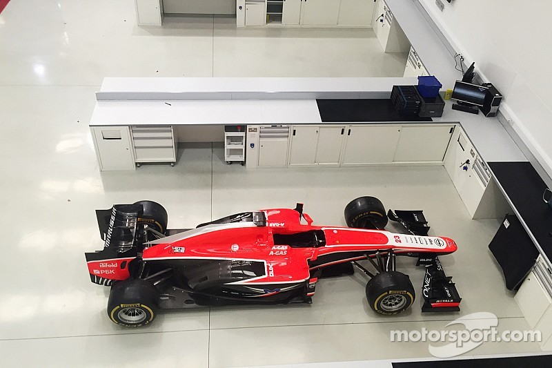 Equipment sale means Marussia near finish line