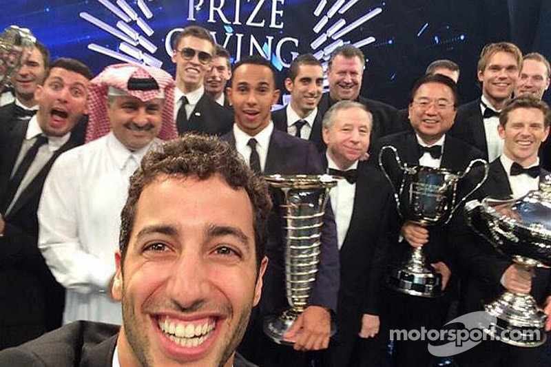 2014 FIA prize-giving champions' press conference