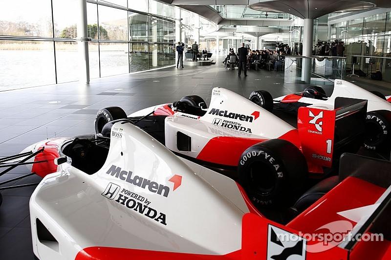 Mercedes, McLaren to change colours in 2015 - report