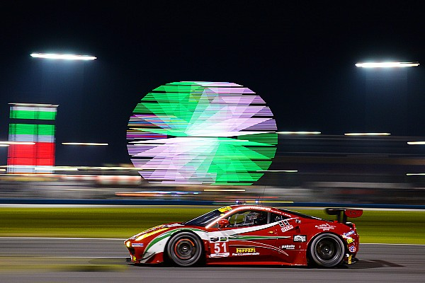 Front row for Ferrari at Daytona