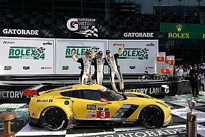 IMSA Race report Corvette Racing wins 53rd Rolex 24 by less than one second