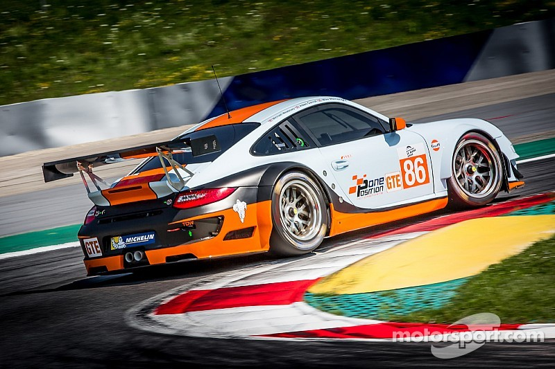 Gulf racing porsche signs james winslow for 2015 european for Garage automobile le mans