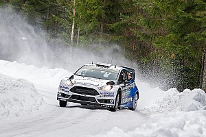 WRC Leg report M-Sport adopt risk-free strategy on Rally Sweden