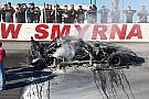 Jordan Ives survives fiery Super Late Model crash after brakes fail