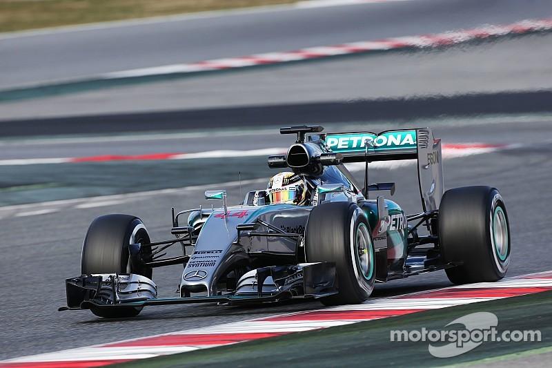 Hamilton impone el ritmo, McLaren tiene más problemas