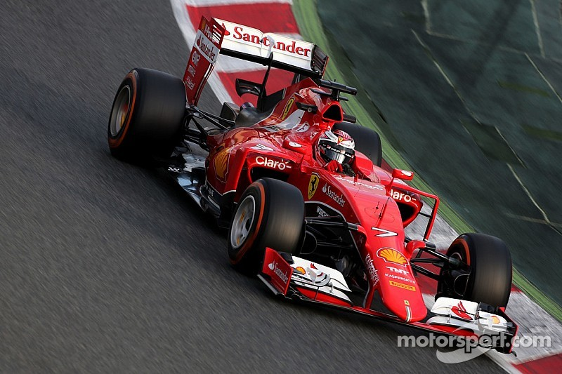 Ferrari: The opening day of the final test session of the winter at Montmelò
