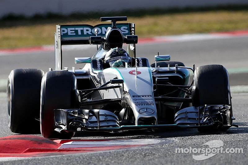 Rivales de Mercedes sorprendidos por sus tiempos