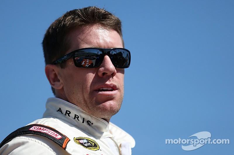 Carl Edwards looks for his first JGR win at Atlanta