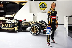 Formula 1 Breaking news Lotus' female driver Carmen Jorda dismisses criticism