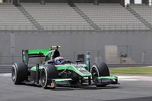 FIA F2 Testing report Stanaway ends Abu Dhabi test on top