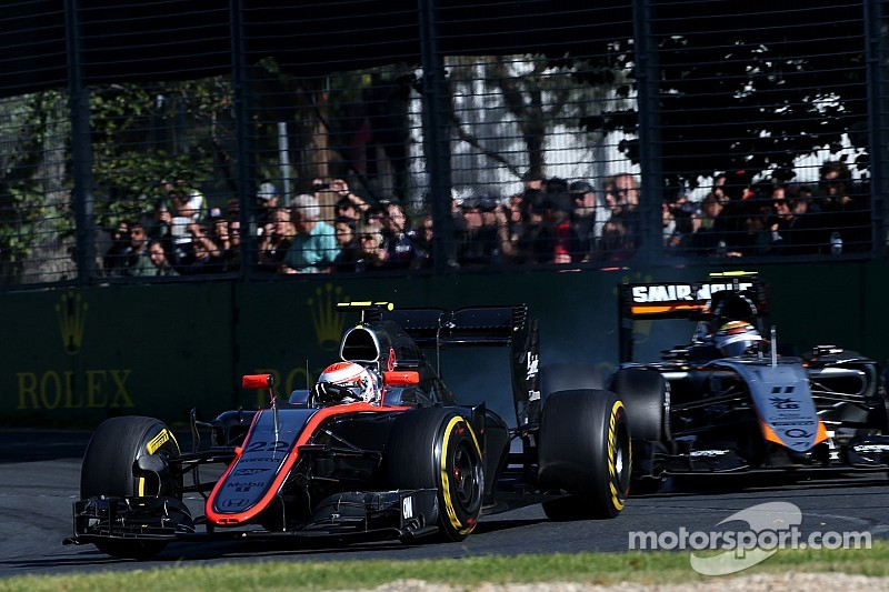 McLaren treated race as a test session