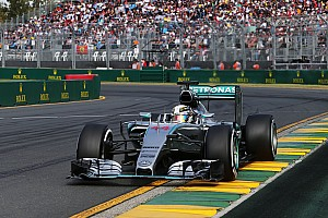 Formula 1 Race report Mercedes kicks off the 2015 season in style with a 1-2 finish at the Australian GP