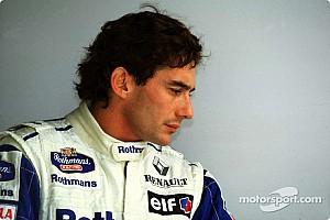 Vintage Actualités Enchères exclusives de racewear Ayrton Senna à Silverstone