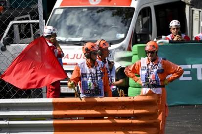 Neue Abstandsregeln: F1-Streckenposten müssen umplatziert werden