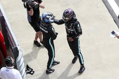 """Lewis Hamilton: """"Valtteri war einfach zu schnell für mich"""""""