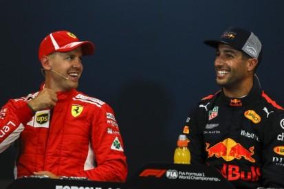 Daniel Ricciardo: Sebastian Vettel läuft nicht einfach davon