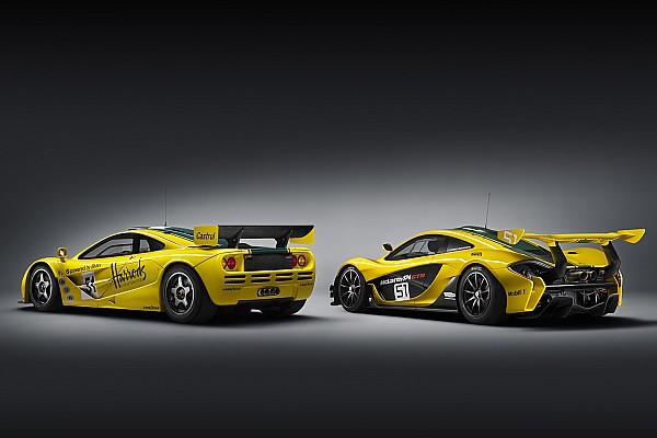 Une livrée exclusive pour la McLaren P1 GTR à Genève