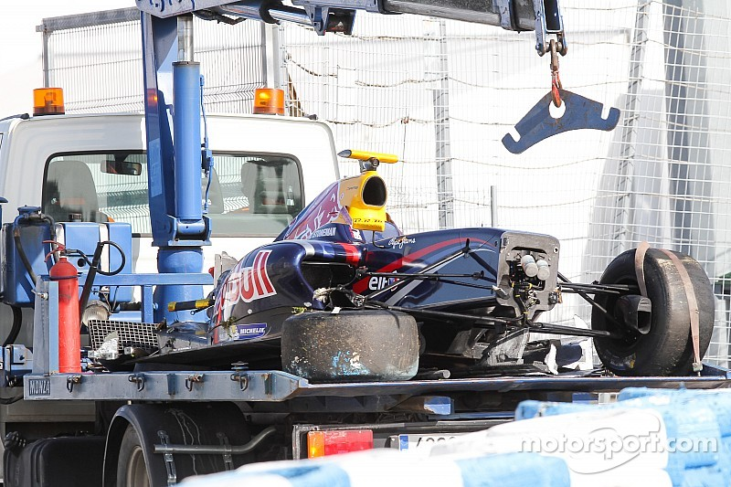 FR 3.5 - Stoneman sort indemne d'un crash violent à Jerez
