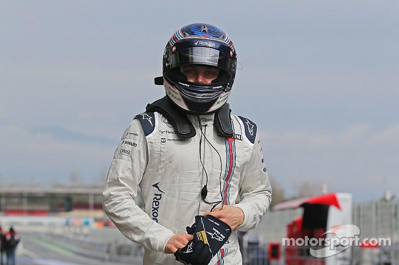 Bottas making progress on back injury