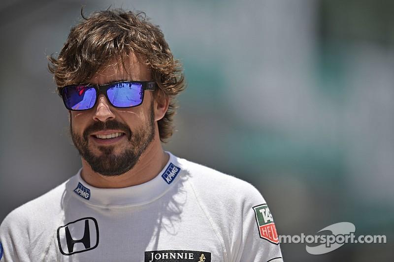 Alonso está feliz, pero aún no al 100% físicamente