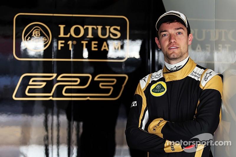 Jolyon Palmer fera ses débuts chez Lotus en Chine