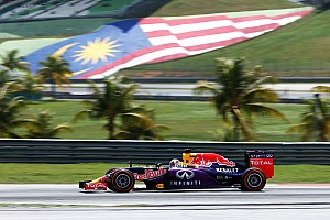 Formula 1 Qualifying report Red Bull grabs 4th and 5th on grid positions for the tomorrow's Malaysian GP
