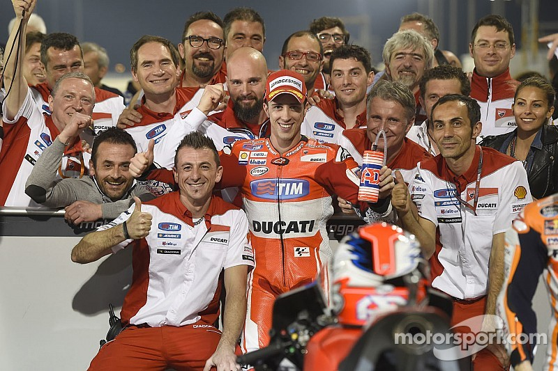 """Ducati en pole au Qatar : """"Le travail de toute une équipe"""""""