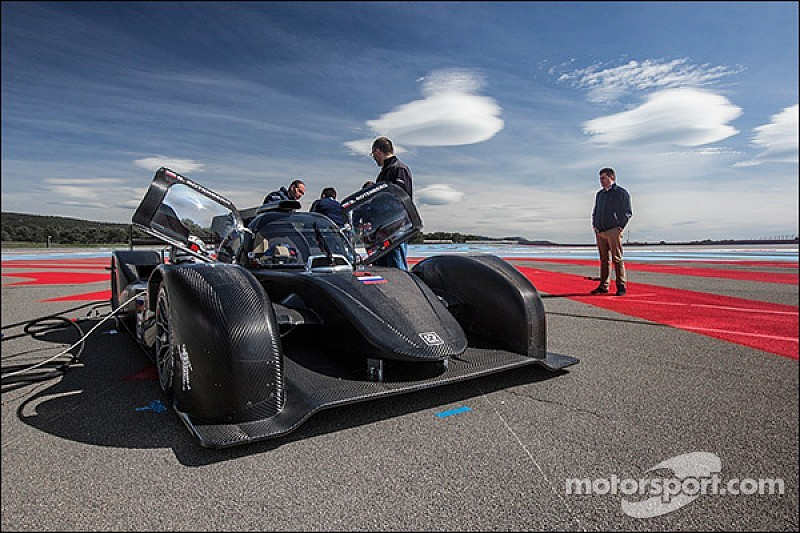 New SMP BR01 makes track debut