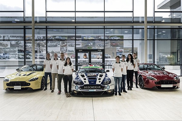 Aston Martin: Evolution Academy line up announced