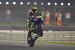 MotoGP Race report Rossi rules stunning season opener in Qatar